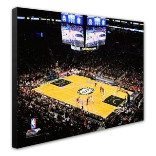 NBA Barclays Center 2012 Stretched Canvas Officially Licensed