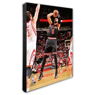 NBA Carlos Boozer 2012 13 Action Stretched Canvas Officially Licensed