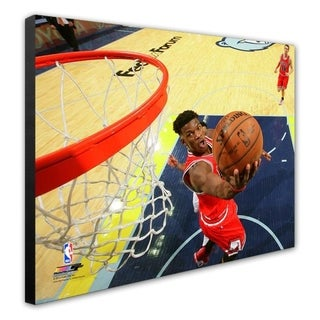 NBA Jimmy Butler 2014 15 Action Stretched Canvas Officially Licensed