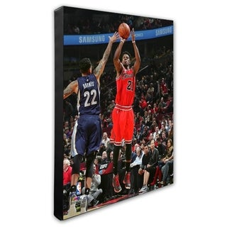 NBA Jimmy Butler 2015 16 Action Stretched Canvas Officially Licensed