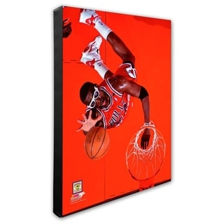 NBA Horace Grant 1993 94 Action Stretched Canvas Officially Licensed