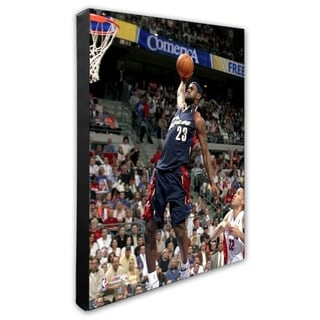 NBA Lebron James 2005 06 Action Stretched Canvas Officially Licensed
