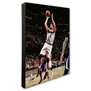 NBA Kevin Love 2015 16 Action Stretched Canvas Officially Licensed