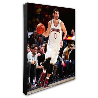 NBA Kevin Love 2014 15 Action Stretched Canvas Officially Licensed