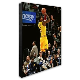 NBA J R Smith 2015 16 Action Stretched Canvas Officially Licensed