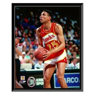 NBA Doc Rivers 1988 89 Action Framed Photo Officially Licensed