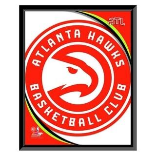 NBA Atlanta Hawks Team Logo Framed Photo Officially Licensed