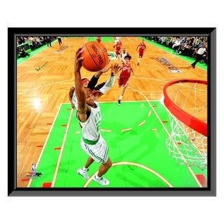 NBA Ray Allen 2009 10 Playoff Action Framed Photo Officially Licensed