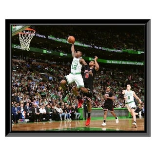 NBA Terry Rozier 2016 17 Playoff Action Framed Photo Officially Licensed