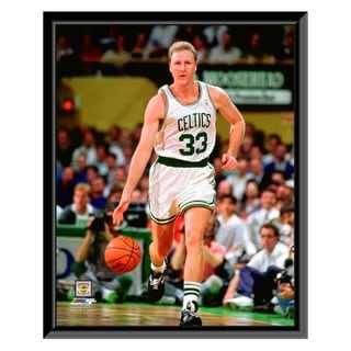 NBA Larry Bird 1991 Action Framed Photo Officially Licensed