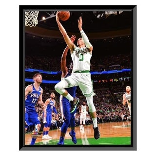 NBA Jayson Tatum 2017 18 Playoff Action Framed Photo Officially Licensed