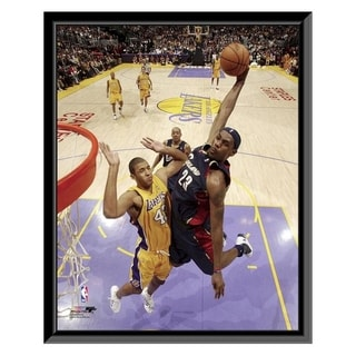 NBA Lebron James Action Framed Photo Officially Licensed