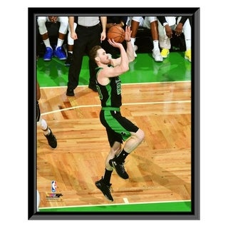 NBA Gordon Hayward 2018 19 Playoff Action Framed Photo Officially Licensed