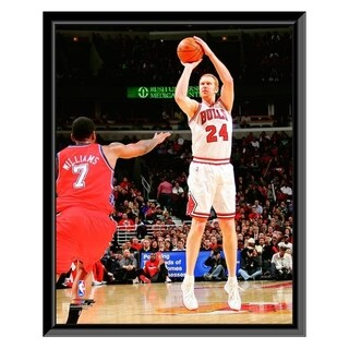 NBA Brian Scalabrine 2011 12 Action Framed Photo Officially Licensed