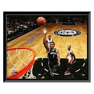 NBA Joe Johnson 2013 14 Action Framed Photo Officially Licensed