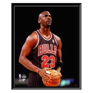 NBA Michael Jordan 1995 96 Action Framed Photo Officially Licensed