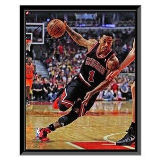 NBA Derrick Rose 2013 14 Action Framed Photo Officially Licensed