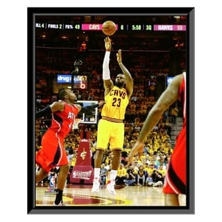 NBA LeBron James Game 4 Of The 2015 Eastern Conference Finals Framed Photo Officially Licensed