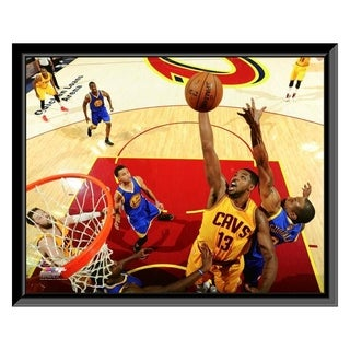 NBA Tristan Thompson Game 3 Of The 2015 NBA Finals Framed Photo Officially Licensed