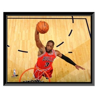 NBA Dwyane Wade 2016 17 Action Framed Photo Officially Licensed