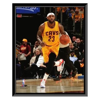 NBA LeBron James 2014 15 Action Framed Photo Officially Licensed