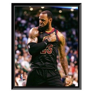 NBA LeBron James 2017 18 Playoff Action Framed Photo Officially Licensed