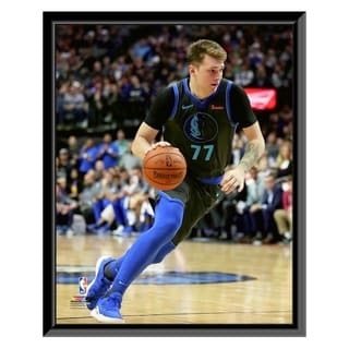NBA Luka Doncic 2018 19 Action Framed Photo Officially Licensed