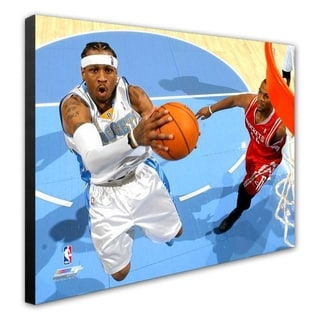 NBA Allen Iverson 06 07 Action Stretched Canvas Officially Licensed