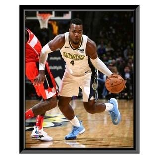 NBA Paul Millsap 2017 18 Action Framed Photo Officially Licensed