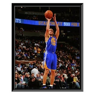 NBA Stephen Curry 2011 12 Action Framed Photo Officially Licensed