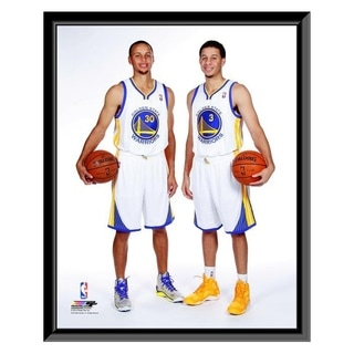 NBA Stephen Curry Seth Curry 2013 Posed Framed Photo Officially Licensed