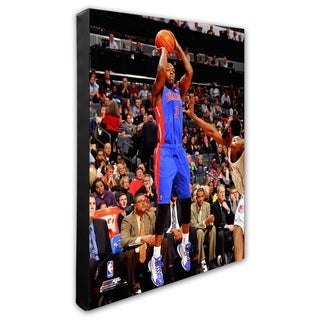 NBA Rodney Stuckey 2011 12 Action Stretched Canvas Officially Licensed