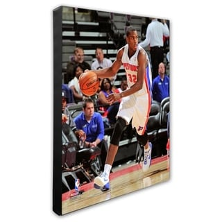 NBA Khris Middleton 2012 13 Action Stretched Canvas Officially Licensed