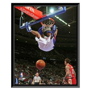 NBA Allen Iverson 2008 09 Action Framed Photo Officially Licensed