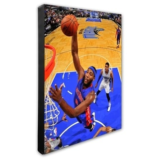 NBA Andre Drummond 2014 15 Action Stretched Canvas Officially Licensed