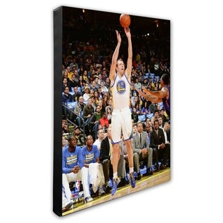 NBA David Lee 2013 14 Action Stretched Canvas Officially Licensed