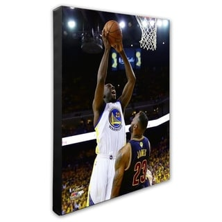 NBA Draymond Green Game 1 Of The 2015 NBA Finals Stretched Canvas Officially Licensed