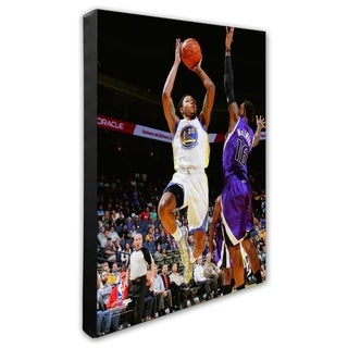 NBA Kent Bazemore 2013 14 Action Stretched Canvas Officially Licensed