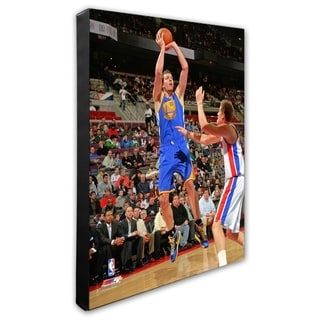 NBA David Lee 2011 12 Action Stretched Canvas Officially Licensed