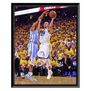 NBA Stephen Curry 2012 13 Playoff Action Framed Photo Officially Licensed