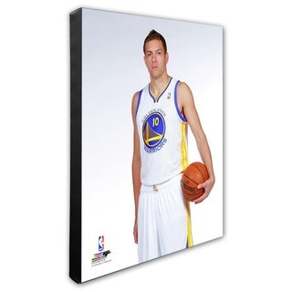 NBA David Lee 2013 14 Posed Stretched Canvas Officially Licensed