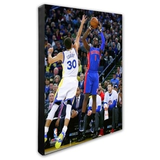 NBA Reggie Jackson 2015 16 Action Stretched Canvas Officially Licensed