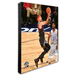 NBA Stephen Curry 2017 NBA All Star Game Stretched Canvas Officially Licensed