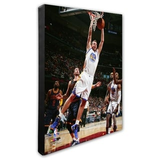 NBA David Lee 2014 15 Action Stretched Canvas Officially Licensed