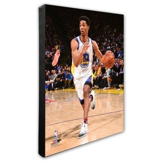 NBA Patrick McCaw 2016 17 Action Stretched Canvas Officially Licensed
