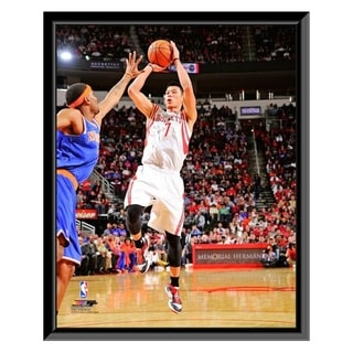 NBA Jeremy Lin 2012 13 Action Framed Photo Officially Licensed