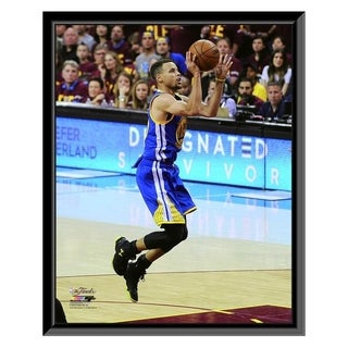 NBA Stephen Curry Game 4 Of The 2016 NBA Finals Framed Photo Officially Licensed