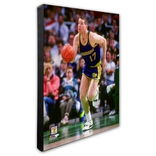 NBA Chris Mullin 1989 90 Action Stretched Canvas Officially Licensed