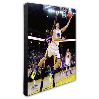 NBA Klay Thompson 2015 16 Action Stretched Canvas Officially Licensed