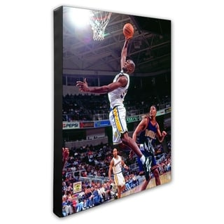 NBA Joe Smith 1997 Action Stretched Canvas Officially Licensed